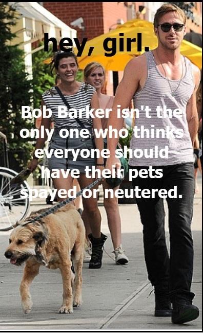 Ryan Gosling's Inner Bob Barker
